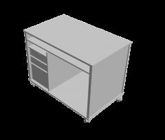 Pedestal unit 3D Max model