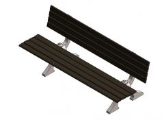 Benches Maglin Revit Family 3