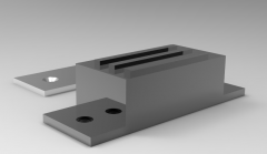 Solid-works 3D CAD Model of Magnetic Clasps Force (kgf)-10   Weight (g)-63