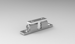 Solid-works 3D CAD Model of Double Ball Catch, M3A1=44A2=24.7