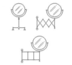 Salle de bains - Rasage Mirror Set 01