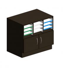 Base Cabinet 2 door Revit model