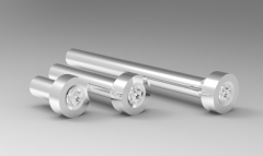 Autodesk Inventor 3D CAD Model of flat cheese screw D2.5 L10(mm)P0.45