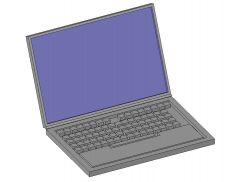 Generic Laptop Revit Family