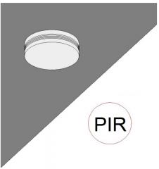 Sensore di illuminazione PIR modello Revit