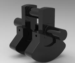 Inventor CNC可加工曲柄轴CAD模型27