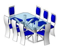 Dining Table Design Revit Family