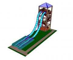 Wasserrutsche SketchUp-Modelle