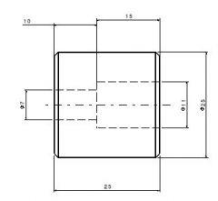 287 Base pad dwg. drawing