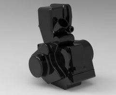 3D CAD Model of small Engine Model