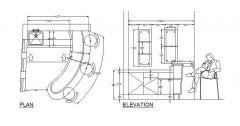 Bar Design - Plan & Elevation