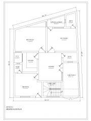 2BHK House Design .dwg_1
