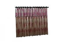2 Tier curtains(82) skp