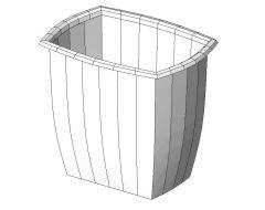 Waste Basket Revit Family 1