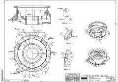 Screenshots of product drawings of Sandvik CH440