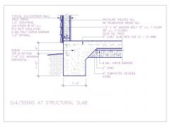 2x4 siding at Structural Slab .dwg