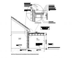 Flat Roof / existing eaves abutment