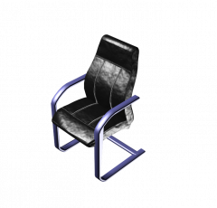 Leather office chair 3DS Max model