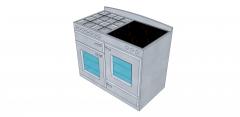 Oven Range sketchup model
