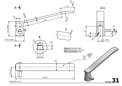 3 & 5 Axis CNC Machinable 2D CAD Drawing 31