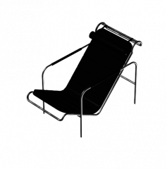 Reclining chairs 3ds max models