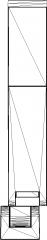 330mm Length Megakeen Spot Light Rear Elevation dwg Drawing