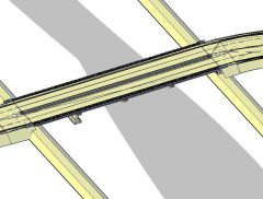 Brücke Design 3D DWG