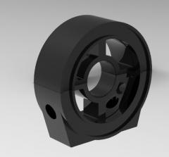 Autodesk Inventor 3D CAD Model of shaft aligner