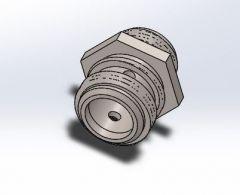 Relief Valve 3D Solidworks Model