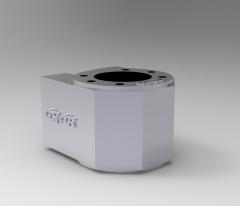 Solid-works 3D CAD Model of Nut bracket MN1804-120304