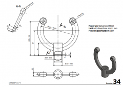 3 & 5 Axis CNC Machinable 2D CAD Drawing 34
