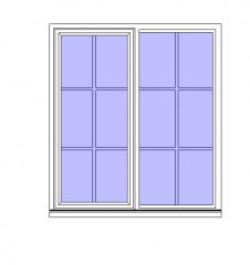 Window Built-in Wall Revit Family 3