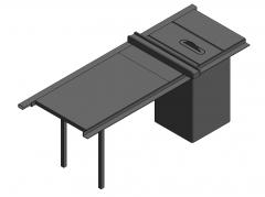 Tischkreissäge Revit-Modell