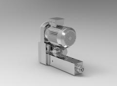 Solid-works 3D CAD Model of  Power tools for CNC Drilling, belt position=0', stroke=0
