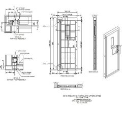 Cell Door Assembly