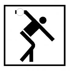 Sports symbol: Bowling