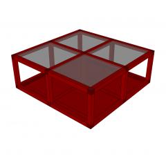 Coffee table sketchup model