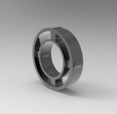 Autodesk Inventor 3D CAD Model of Freewheel with cage, Torque (N.m)63