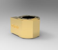 Solid-works 3D CAD Model of Nut bracket MN3206-090606