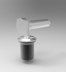 Solid-works 3D CAD Model of Actuator with max. Lifting Force 5000 N, max. Stroke 995 mm, F=3000Speed =25M02
