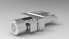 Solid-works 3D CAD Model of  Power tools for CNC Drilling, Motor speed=2900, Spindle speed= 5800, stroke = 0
