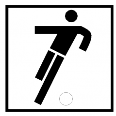 Sports symbol: Football