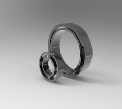 Autodesk Inventor 3D CAD Model of Freewheel with cage, Torque (N.m)280