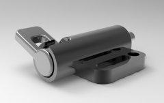 Solid-works 3D CAD Model of Spring latches, d=10b1=38b2=32b3=16b4=5.4