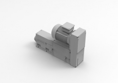 Autodesk Inventor ipt file 3D CAD Model of Power tools for CNC Drilling,  Motor =1.1kw, stroke = 0