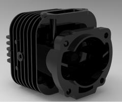 Peça do motor CAD Modelo 39