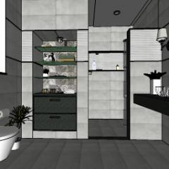 Bathroom and toilet design  skp