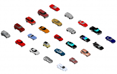 3D Car Collection 01 dwg