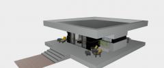 3D HAUS SKP MODELL
