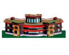 3D de Villa en AutoCAD_2 .dwg